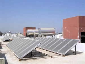 NRG Solar Water Heater for Hostel