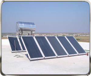 NRG Solar Water Heater for Guest House