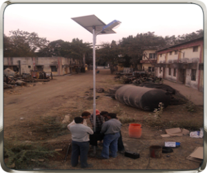 NRG Solar LED Street Lights