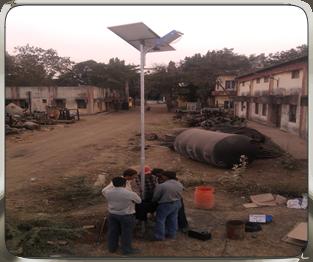 NRG Solar LED Street Lights