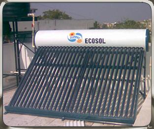 NRG Solar Water Heater Sunny Ecosol